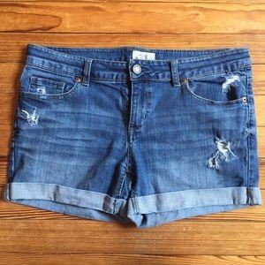 Aeropostale Jean Shorts Cuffed